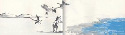 Suzy Lee, L'onda, edizioni Corraini