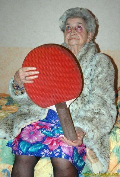 La raquette de mamie