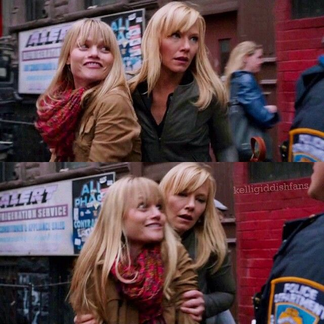 Amanda and her sister Kim - Kelli Giddish and Lindsay Pulsipher in - law and order svu presumed guilty