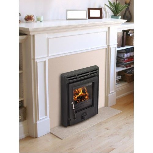 Bilbery Inset stove. Takes up no room at all but the heat it gives out is fantastic.