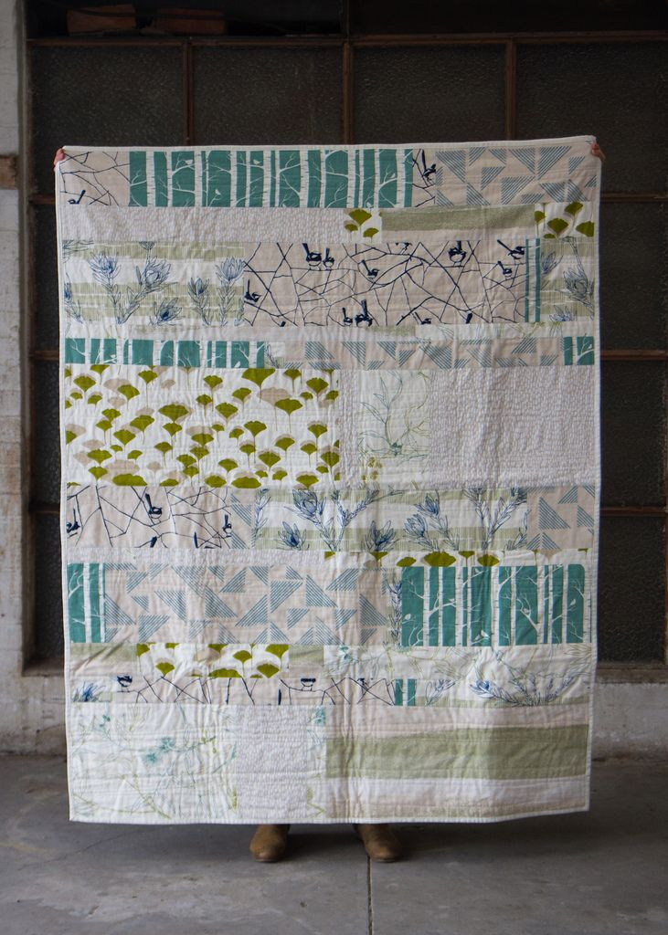 ink and spindle: The Landscape Quilt - now with full sized photos!