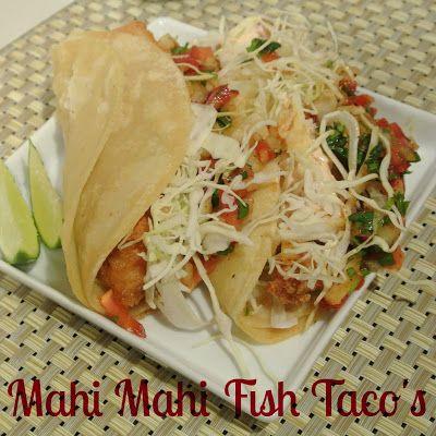 Mahi Mahi Fish Taco Recipe