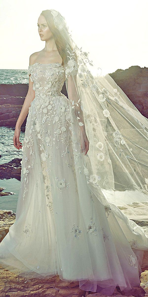 Amazing Zuhair Murad 2017 Bridal Collection Wedding Day Pinterest Dresses And