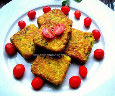 Turmeric and Saffron: Kookoo Kadoo - Persian Zucchini Kookoo