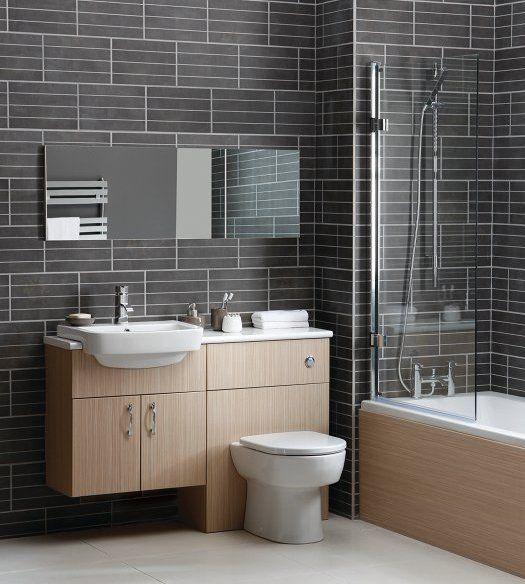 toilet sink combo for small bathroom | Aquaduo Designer 600 Combination Unit Sand Zebrano