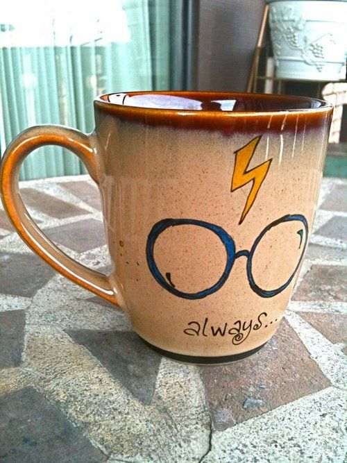coffee mug of harry potter, I want this!                                                                                                                                                      More