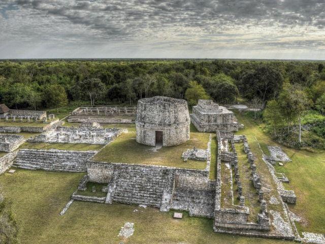 Zona arqueológica de Mayapán, Tecoh, Yucatán, México. Foto: PashiX (CC-BY-SA 4.0)