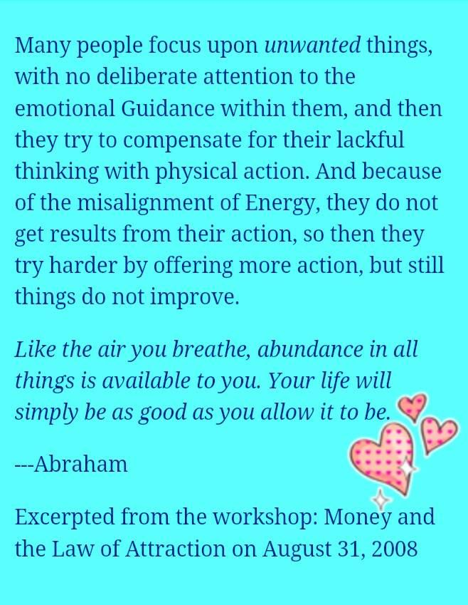 law of attraction pdf esther hicks