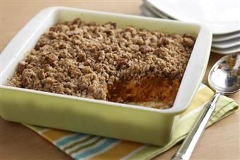 Sweet Potato Pudding with Pecan Streusel Topping | Recipe | Sweet ...