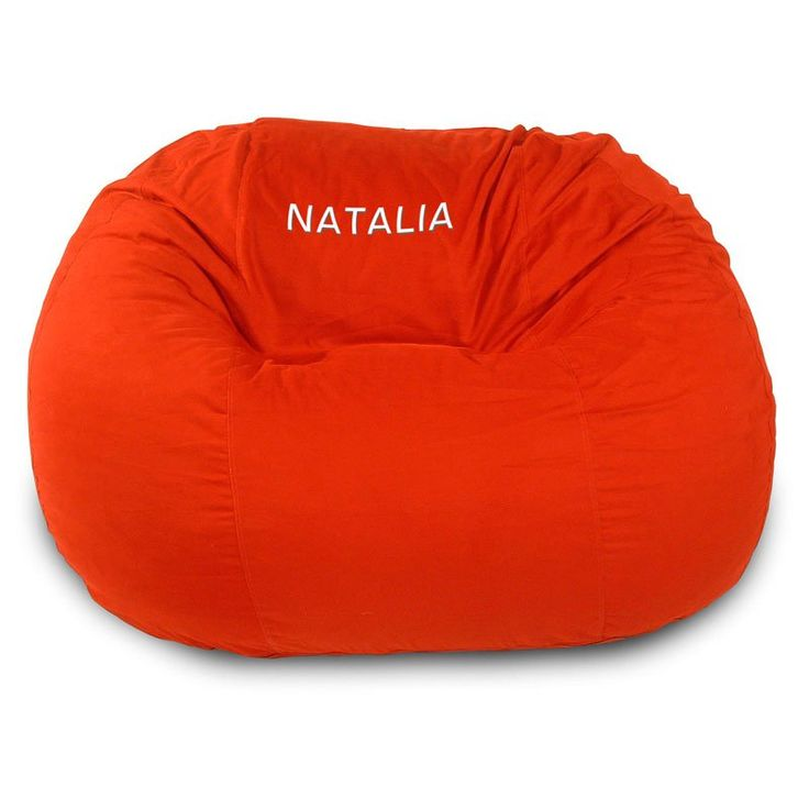 Small Personalized Comfy Bean Twill Bean Bag Sofa