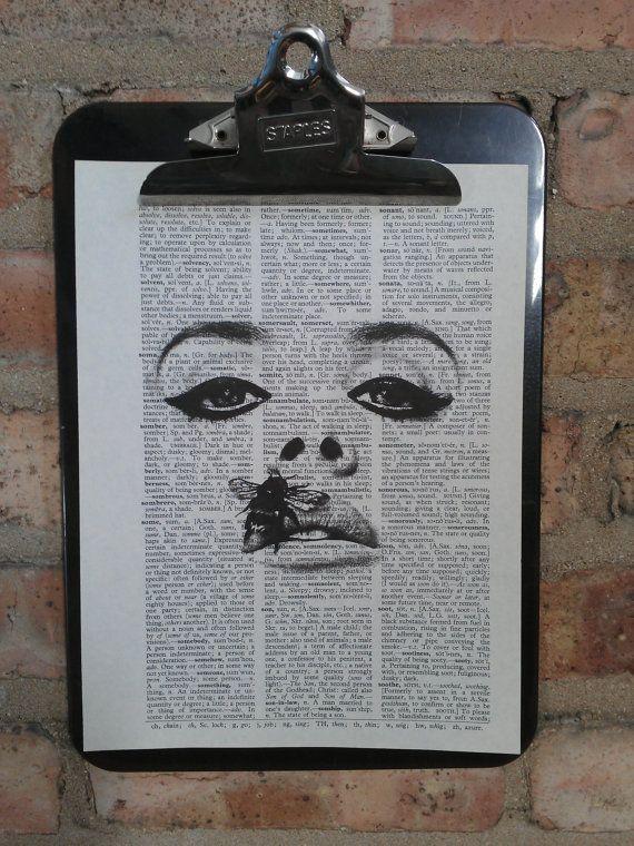 Lana Del Rey Bee Print by Ang3lb0y on Etsy, $6.00