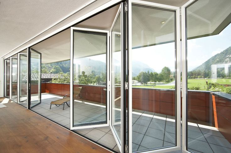 From our Solarlux range.  #outdoorliving #bifolddoors