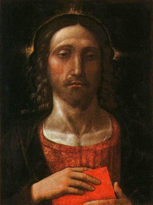 """Christ the Redeemer,"" Andrea Mantegna."