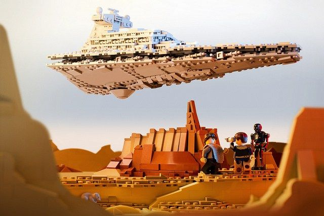Star Wars Rogue One Imperial Star Destroyer Jedha