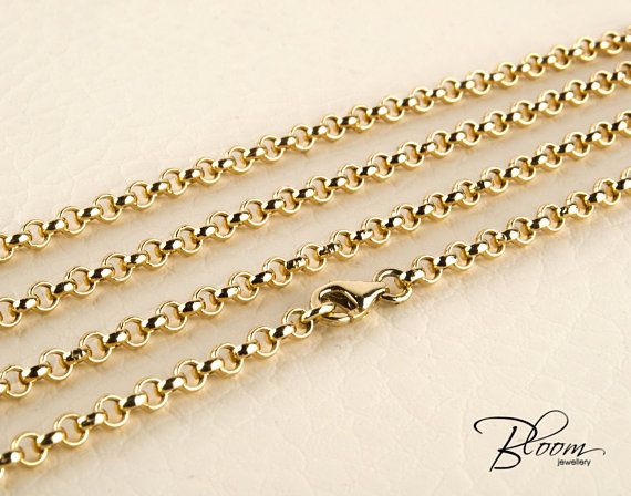 Belcher Chain Solid Gold Chain 14K Gold Chain Necklace for Men Gold Chain Mens Gold Chain Mens Belcher Chain Gold Belcher Chain Gold