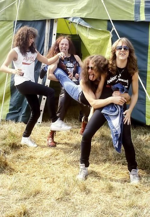 Metallica and Venom \m/