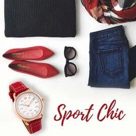 Ρολόι Season Time Κόκκινο Sport Chic Series | Για αγορά πατήστε πάνω στην εικόνα