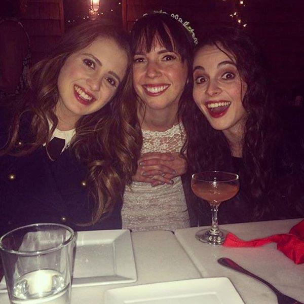 iCarly Co-Stars Danielle Morrow and Jeremy Rowley Are Married  Danielle Morrow, Vanessa Marano, Laura Marano