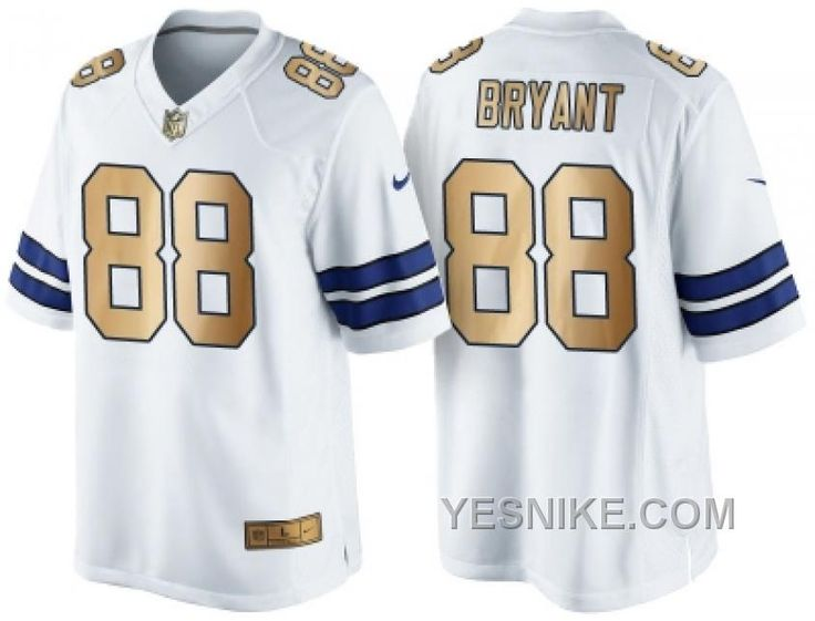 d675781c ... coupon code for youth dallas cowboys 88 dez bryant nike white color  rush 2015 nfl game