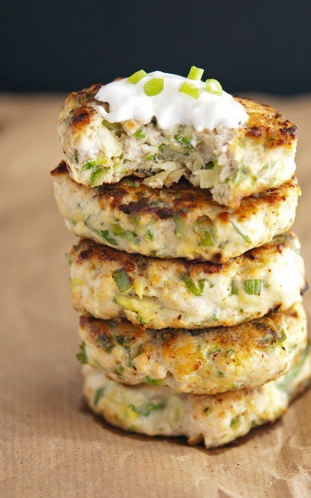 Turkey Zucchini Burgers | 26 Delicious Gluten-Free Paleo Friendly Recipes #turkey #recipe #dinner #recipes #maincourse