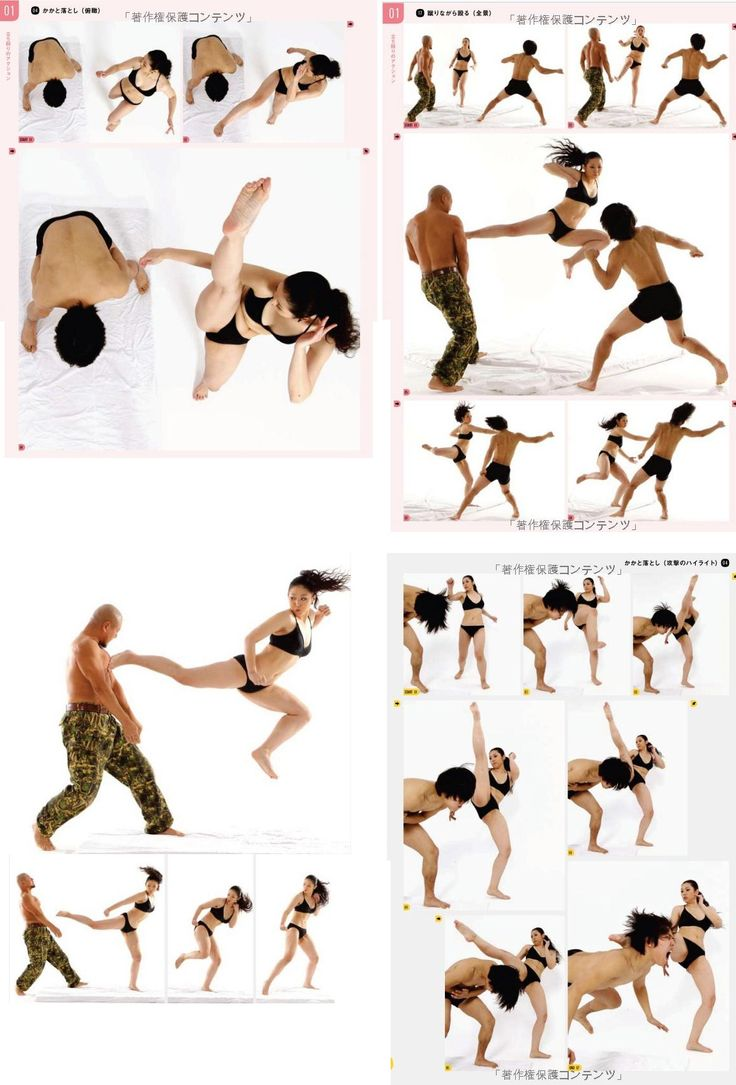 """pose_eschergirls: """" euniko submitted: """" interesting references """" Some pretty interesting fighting poses to look at, for those interested in some references. :) """""""
