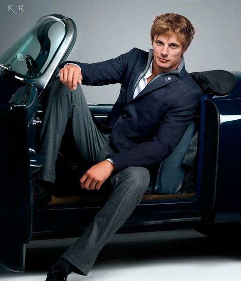 Attractive British man and a fancy car? I'm in.