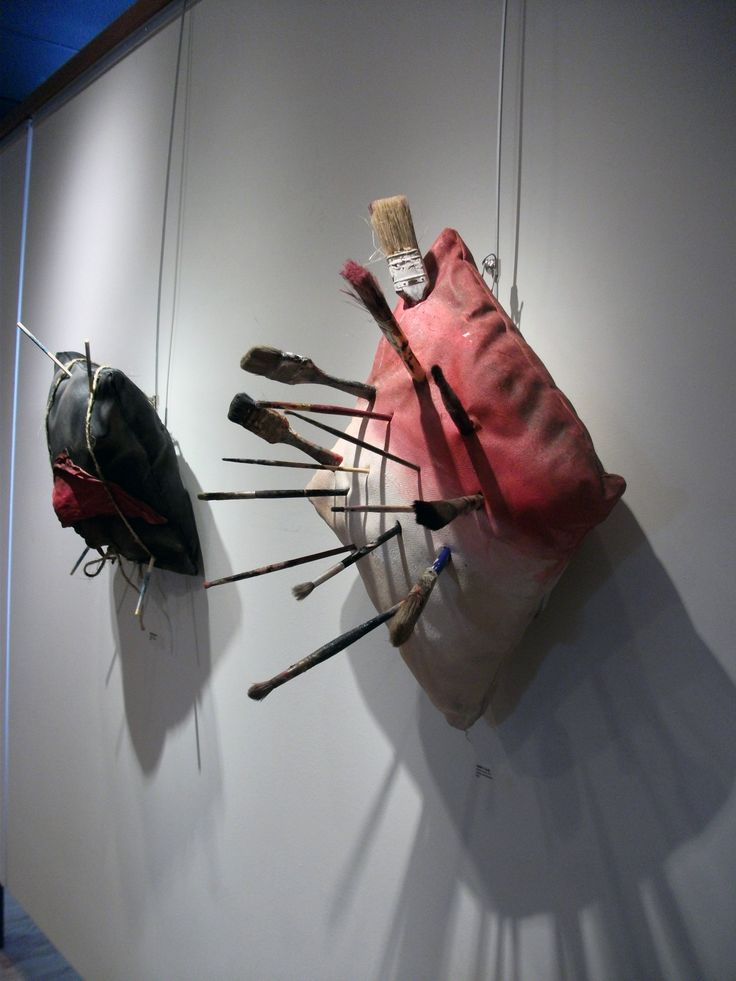 """The Artist Brushes"" and ""Sleeping Beauty"" at Leamington Arts Centre Gallery, in Far Out Show 2013"