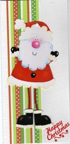 Santa has wobbly legs.