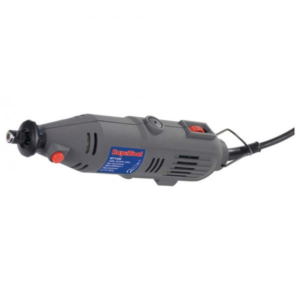 SupaTool Multi Tool 135w (620030). Ideal for lightweight grinding, drilling, sanding & milling. Can also be used to sharpen dull tool blades and to polish smaller items. #tool #diy #craft #home #tool #electric #work