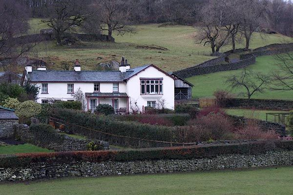 Castle Cottage in Near Sawrey.  Beatrix and Williams home.
