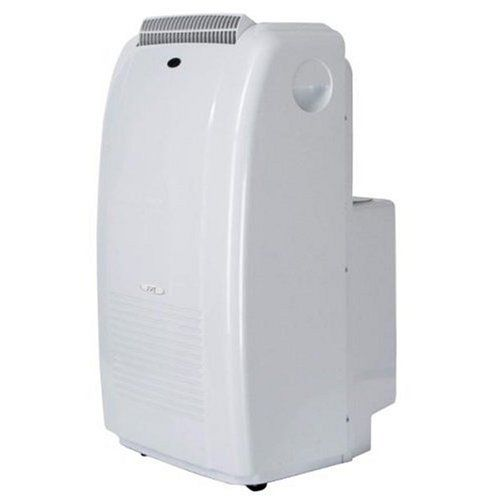 SPT WA-9040DE Dual-Hose 9,000-BTU Portable Air Conditioner Portable 3-in-1 air conditioner for rooms up to 250 square feet. 9,000-BTU air conditioner; 47-pint dehumidifier; 3-speed fan. Self-evaporating system; dual-hose system; re-start technology. Digital thermostat and remote control; 24-hour timer; air filter. Measures 18-1/2 by 18 by 33-1/2 inches; 1-year limited warranty.  #Sunpentown #Home