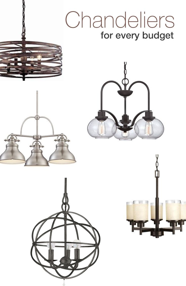 61 best lighting images on pinterest chandeliers chandelier updating a space can be as easy as changing out the light fixture we picked arubaitofo Choice Image
