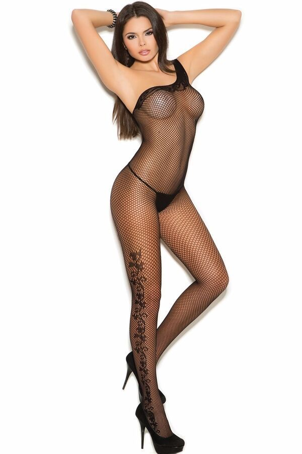7d1f5756c84 Fishnet Bodystocking Lingerie Women Hosiery Nightwear Bodysuit Stockings  Hose 840295119816 eBay Women Hosiery Lingerie