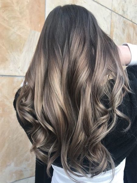 Ash Blonde Layered Hairstyles Ideas 2018 Smoky