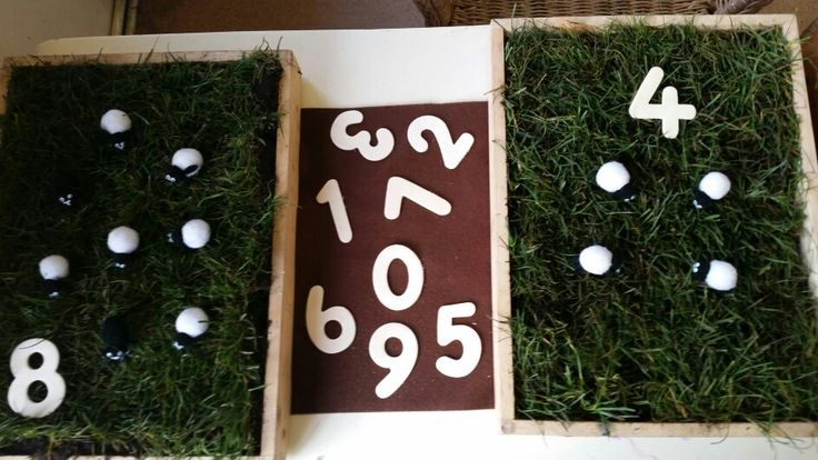 Counting sheep at Chadwell Pre-school