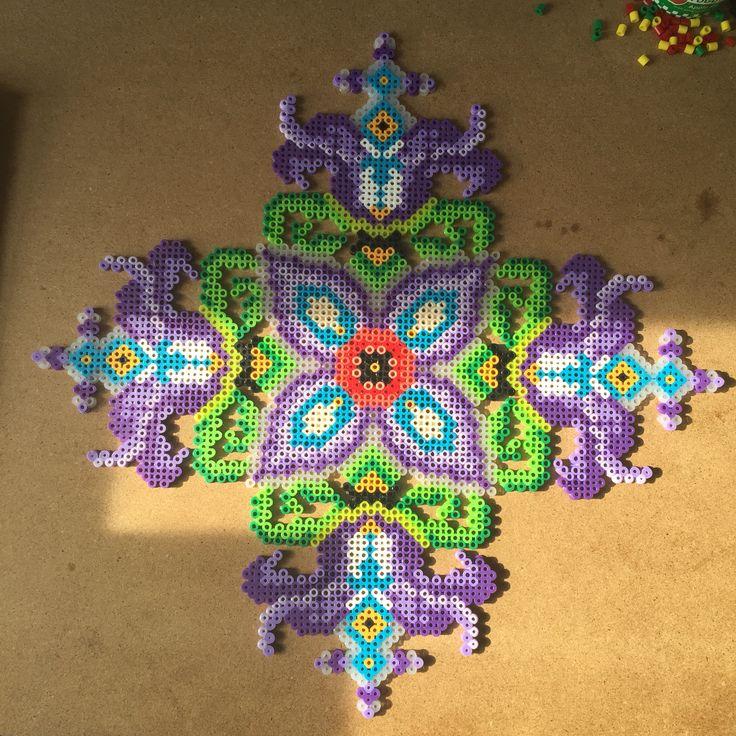 Decorations De Noel En Perles Hama