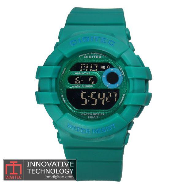jam tangan digitec wanita DG-2051T hijau