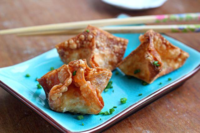 Schmear Rangoons, Chee Rangoons, Homemade Chine, Cheese Rangoons, New ...