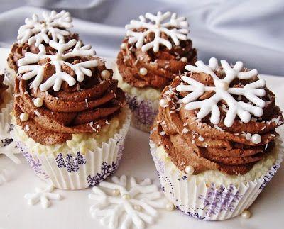 Citromhab: Hópehely muffin