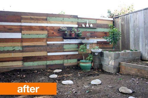 repurposed fence