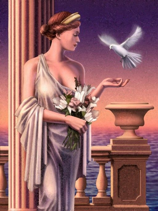 Aphrodite(Oudgrieks:Ἀφροδίτη,Aphrodítē) is een godin van zeer grote betekenis in deGriekse mythologie. Ze is degodinvan onder andere deliefde, deschoonheid, deseksualiteiten devruchtbaarheid. Sommigen beschouwen haar ook als de godin van het evenwicht. Ze is voortgekomen uit deFenicischegodinAstarte, maar door de Grieken zo naar hun aanleg en behoeften hervormd, dat zij een echt Griekse godin is geworden.