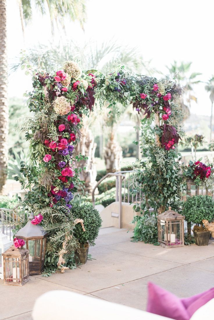 illuminated screen palms event design - Google Search