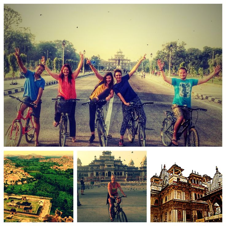 Paddle along early in the morning on this cycling tour in Jaipur as you pass through vibrant streets and temples. Get a real experience of lively streets of Muslim area and admire the fine Albert Hall Museum. This tour is filled with stories from the past to its modern times. Look closely at the Art Deco Raj Mandir cinema and marble carver's market filled with creativity.   The tour covers various attractions like Ramganj Chaupar (Karnot Mahal Hotel), Ghat Gate, Muslim district, fruit…