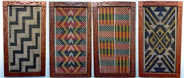 365 Days as it happens: Day 88 Tukutuku panels