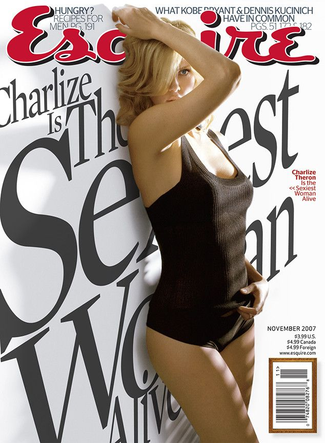 Charlize Theron (2007) from Esquire's Sexiest Woman Alive | E! Online