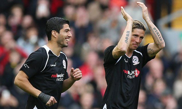 Torres will 'never forget' hearing Liverpool fans sing his song