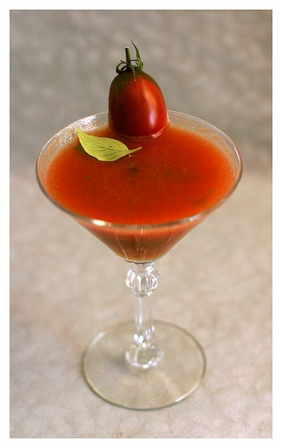 Thai Inspired Fresh Heirloom Tomato Bloody Mary