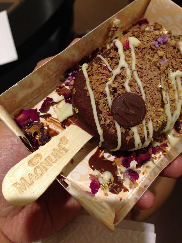 Design your own Magnum ice cream