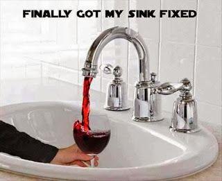 wine sink