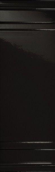 #Settecento #Ermitage Boiserie Nero 25,5x78 cm 110073 | #Gres #decorati #25,5x78 | su #casaebagno.it a 88 Euro/mq | #piastrelle #ceramica #pavimento #rivestimento #bagno #cucina #esterno